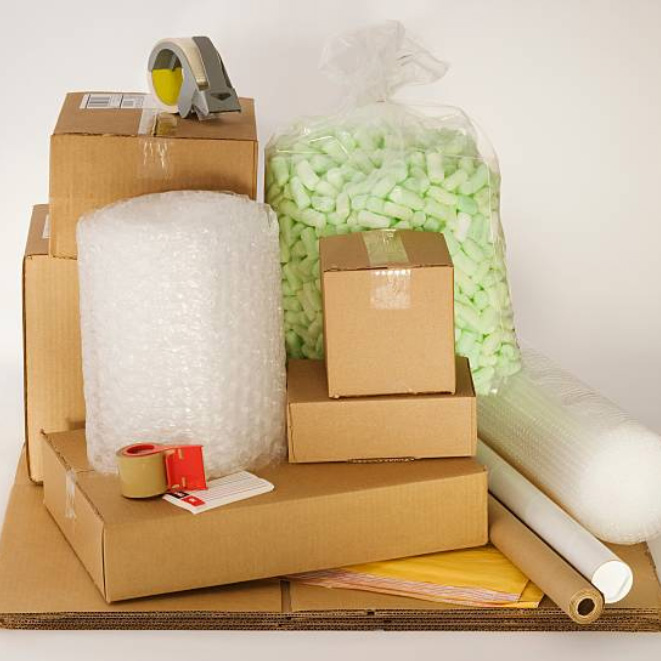 Usability and difference between traditional packaging materials and new packaging materials
