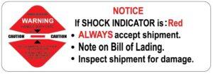 shockwatch small sticker