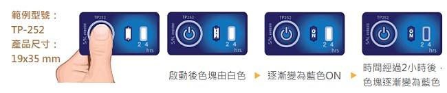 計時溫度標籤貼紙- 低溫冷鏈食品及運輸業使用方法