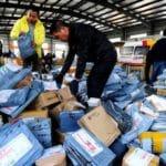 物流袋包裝升降機–減少人工搬運的風險