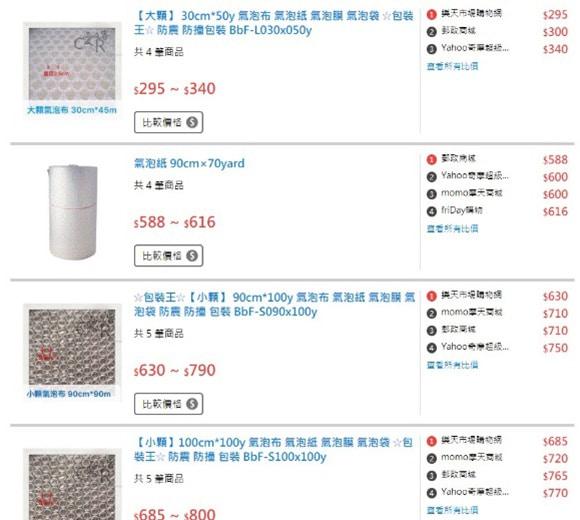 泡泡袋價格 分析。精打細算的朋友會善用Google搜尋 包材 氣泡紙 、 泡泡紙 、 氣泡袋 、 氣泡布 ..等價格比較,泡泡袋同樣尺寸卻有不同價錢,傳統泡泡袋有分3種等級:A級>B級>C級。這些相對在市售的價格有明顯差距。我們經過實際測試及,傳統氣泡紙市售價格雖然便宜,實際上並不划算,強力泡泡袋不僅省錢又省力。