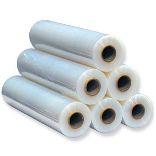 What is pe film?  What kind of packaging can be applied?  PE film, also known as stretch film, stretch film, and stretch film, is widely used for the concentrated wrapping of various goods, which can reduce the damage and collapse of the goods during transportation. The goods are packed with PE stretch film to be waterproof, dustproof, and transparent, and can be easily Distinguish the types of goods packaged.  Can be used in: pallet packaging, carton packaging, machine cover, special-shaped product packaging, product surface protection.