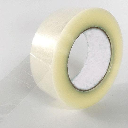 封箱膠帶 又稱之為 bopp膠帶 ;封箱膠帶是任何企業、公司、個人生活中不可缺少的日常用品,一般人對膠帶的認識處於一知半解,雖然經常接觸但對材質只在於手感黏度好, 認為價格低廉,就是品質好的膠帶。但其實這些都是錯誤的認知和判斷。那麼 封箱膠帶品質要如何辨認呢? 粘力低於10號的膠帶是膠水覆塗較少,一般只要20微米左右,如 文具膠帶 、 捆綁用的膠帶 。正常的封箱膠帶的初粘力在15-20號之間,這種膠帶膠水的厚度一般有22-28微米。這種是是契合規範的厚度。